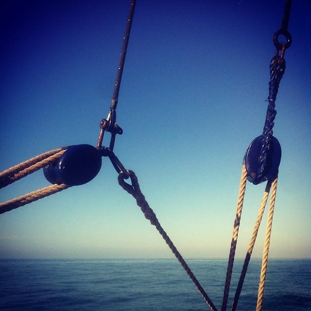 Première sortie en mer de l'année !